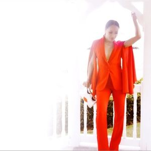 2 Pc Red Suit